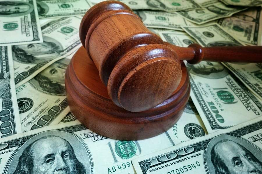 collection laws gavel money