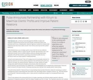 Pulse_press release
