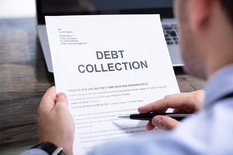debt collection notice